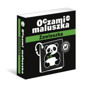 Oczami Maluszka - Kontrastowa Książeczka - Zawieszka/Tata Robi Książki