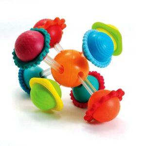 Grzechotka Wimzle – Sensoryczna Przygoda/ Fat Brain Toys